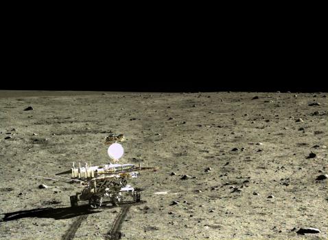 La Luna, imagen de la Agencia Espacial China